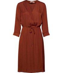 friedaiw dress jurk knielengte bruin inwear