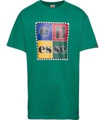 el campania t-shirts short-sleeved grön ellesse