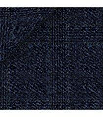 giacca da uomo su misura, vitale barberis canonico, principe di galles deciso mouliné blu, autunno inverno | lanieri