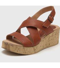sandalia de cuero suela gravagna