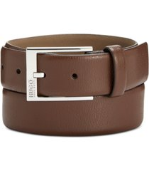 hugo boss men's gellot leather belt