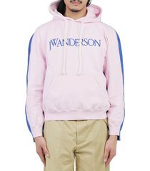 j.w. anderson jw anderson pink inside out hoodie