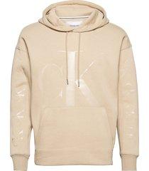 ck eco fashion hoodie hoodie creme calvin klein jeans