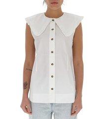 blouse van biologisch katoen