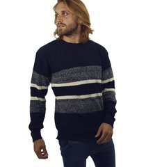 sweater azul redskin franjas