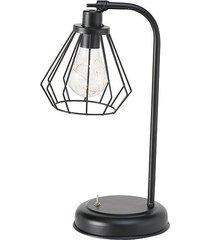 lampa stołowa led geometryczna