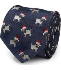 cufflinks inc santa pug men's tie