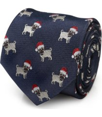 cufflinks inc santa pug men's tie