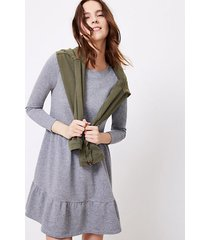 loft tiered swing dress