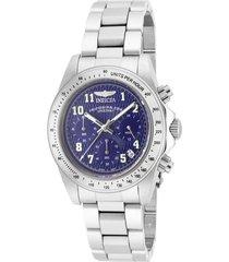 reloj invicta acero modelo 170ak para hombres, colección speedway