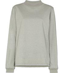 les tien high-neck sweatshirt - grey
