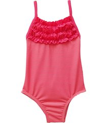 traje de baño rosa brillantina camelia
