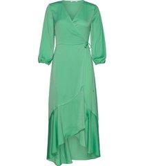esmee ss dress 12770 knälång klänning grön samsøe samsøe