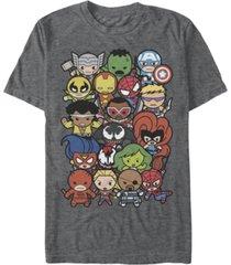 marvel men's comic collection kawaii marvel men's dogpile short sleeve t-shirt