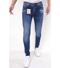 true rise nette jeans met stretch 5304