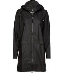 w coat regenkleding zwart rains