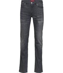 hugo 708 slimmade jeans grå hugo