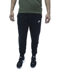sudadera negro nike m nsw club jggr ft