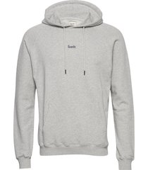 bison hoodie-black hoodie trui grijs forét