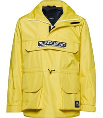 hook coated canvas outerwear jackets anoraks geel j. lindeberg