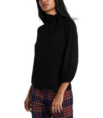 riley & rae faye tie-neck top, created for macy's