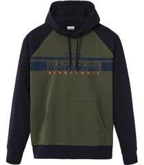 hoodie army green
