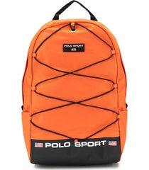 ralph lauren mochila polo sport - laranja