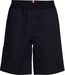cargo short shorts casual svart hilfiger collection