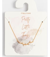 maurices womens dainty gold branch necklace