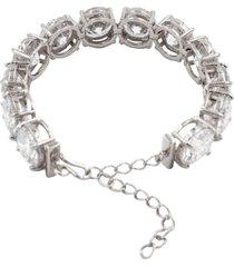 pulseira the ring boutique riviera maxi em ródio branco - tricae