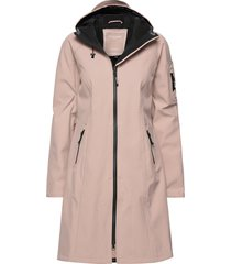long raincoat regenkleding roze ilse jacobsen