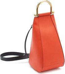 jw anderson small wedge shoulder bag - orange