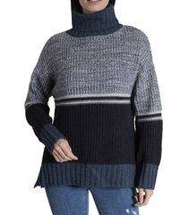 sweater mujer azucena algodón azul rockford