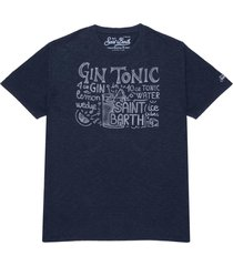 gin ingredients print man t-shirt
