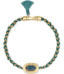 kendra scott stone pendant thread & chain bracelet