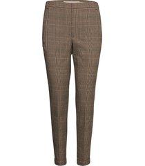 viceiw zella pant pantalon met rechte pijpen bruin inwear