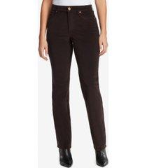 bandolino women's mandie corduroy average length jeans