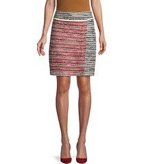 amelia knit a-line skirt