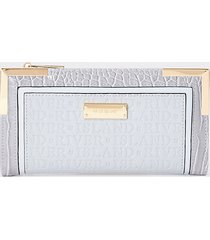 river island womens grey river embossed purse