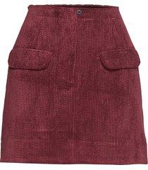 boyas mw short skirt kort kjol röd second female