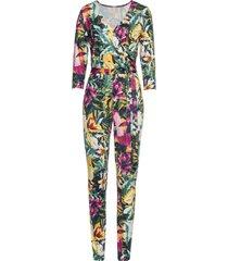 blommönstrad jumpsuit