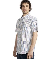camisa tablas reversible multicolor stoked