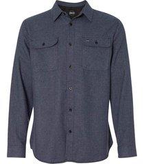 camisa manga longa blanks co cam8200 blanks azul