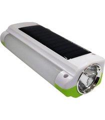 lanterna luminária com painel solar