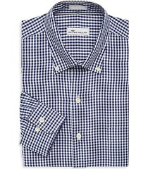 gingham classic-fit dress shirt