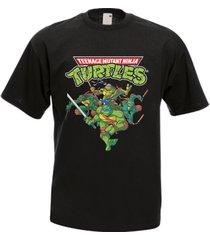 teenage mutant ninja turtles men's t-shirt many colors