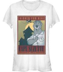fifth sun women's talespin cape suzette poster short sleeve t-shirt