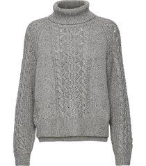 marylin knit turtleneck coltrui grijs mos mosh