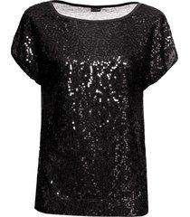 maglia di paillettes (nero) - bodyflirt