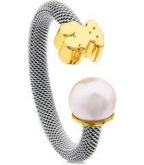 anillo tous icon mesh 613105000 multicolor mujer